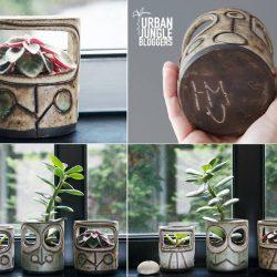 #urbanjunglebloggers creative plant pots