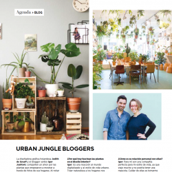 Urban Jungle Bloggers in Espacio Living Argentina december 2015