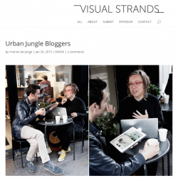 Urban Jungle Bloggers in visual strands