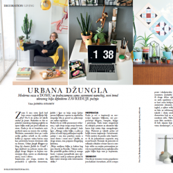 Urban Jungle Bloggers in ELLE Decoration Serbia