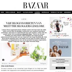 Urban Jungle Bloggers on Harper's Bazaar NL