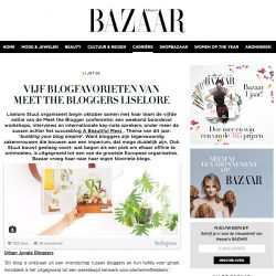 Urban Jungle Bloggers on Harper's Bazaar NL