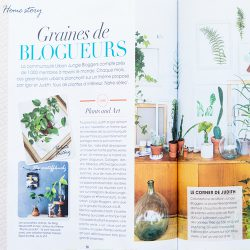 Urban Jungle Bloggers in As You Like magazine February 2016 France