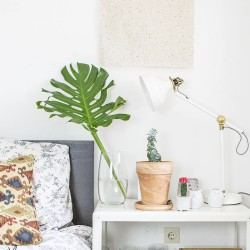 #urbanjunglebloggers cosy and green bedroom