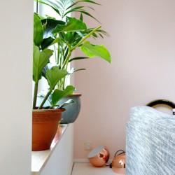 #urbanjunglebloggers cosy green bedroom