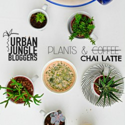#urbanjunglebloggers plants and coffee