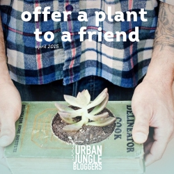 April 2015: Offer a Plant to a Friend!