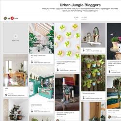 Urban Jungle Bloggers Pinterest
