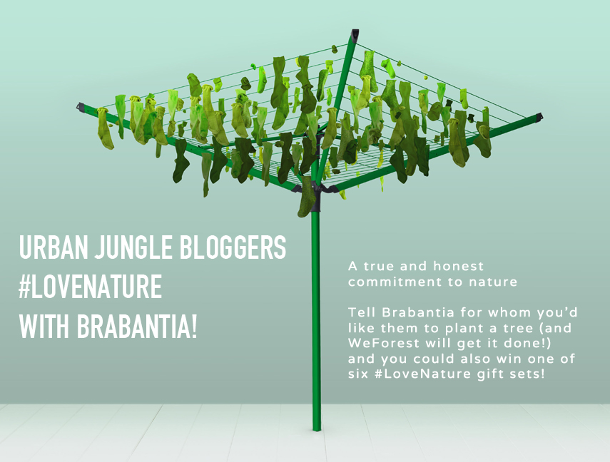 Urban Jungle Bloggers love nature with Brabantia