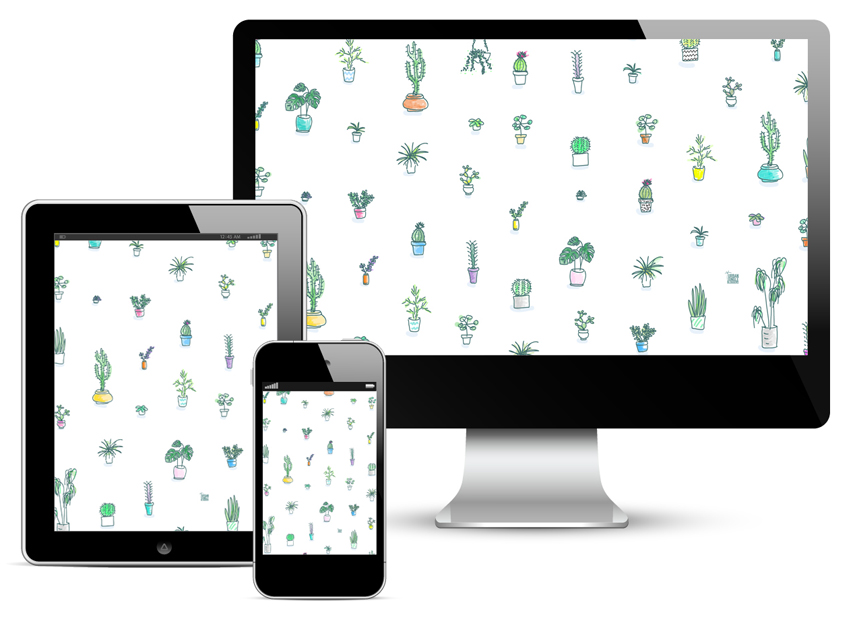 Urban Jungle Bloggers - wallpaper for phone tablet desktop