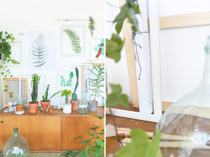 Plants & Art by Judith de Graaff for Urban Jungle Bloggers