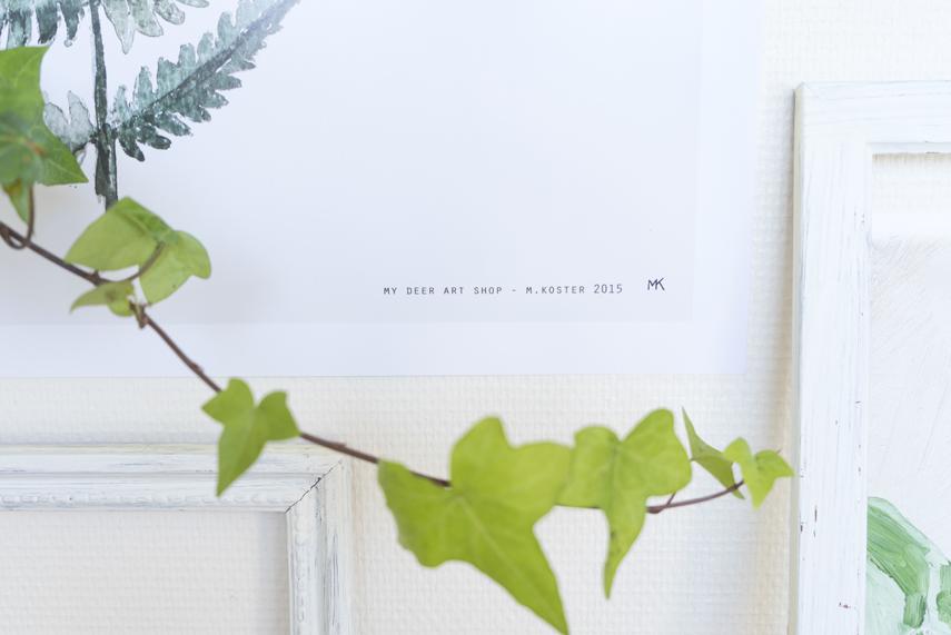 Plants & Art by Judith de Graaff for Urban Jungle Bloggers