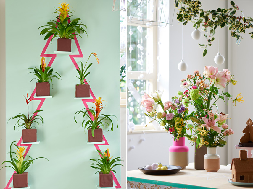 Urban Jungle Bloggers Festive Decor Ideas with plants - Happy Life