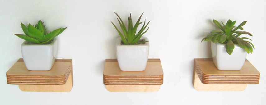 Small Floating Shelf plantshelfie perfection: win a set of 3 floating shelves from