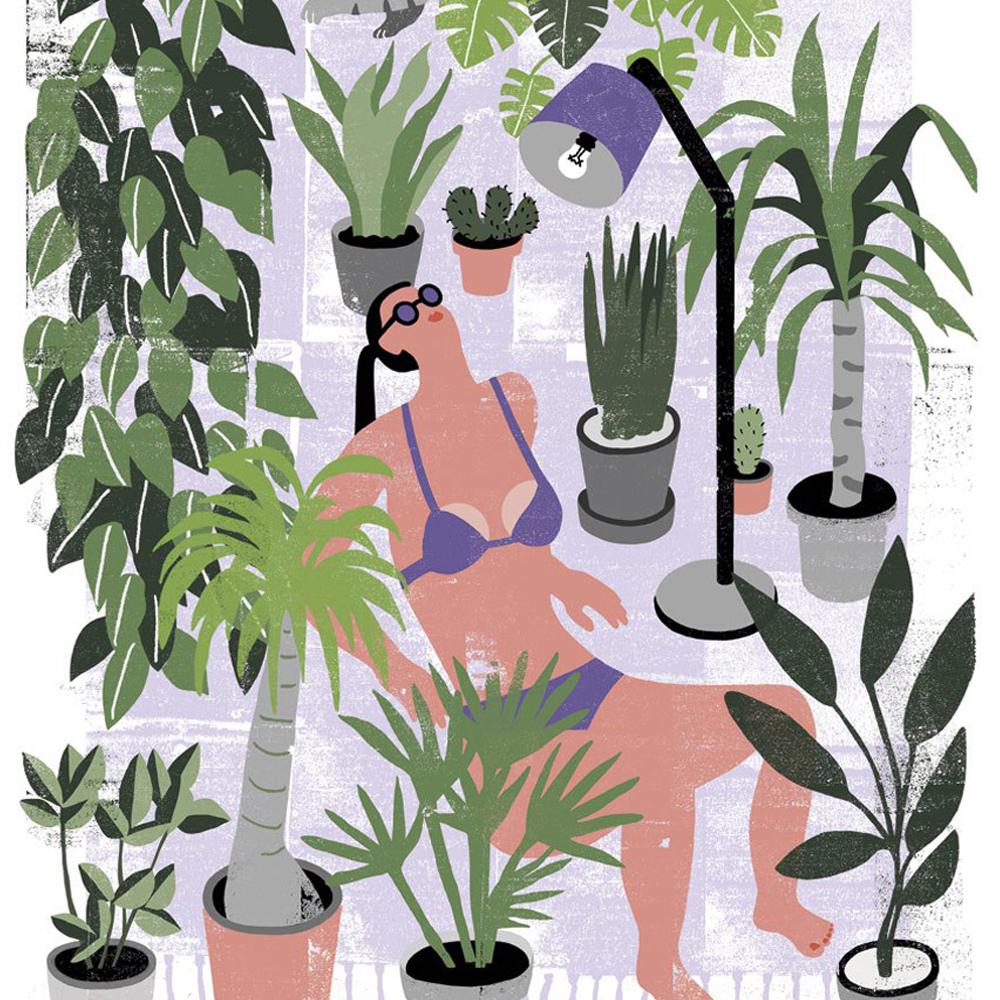 Human Empire botanical poster contest Urban Jungle Bloggers