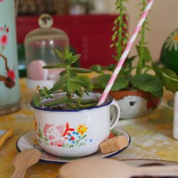 Urban Jungle Bloggers in May: Planty Table Setting