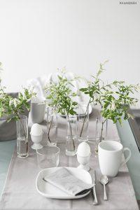 urbanjunglebloggers, planty table setting