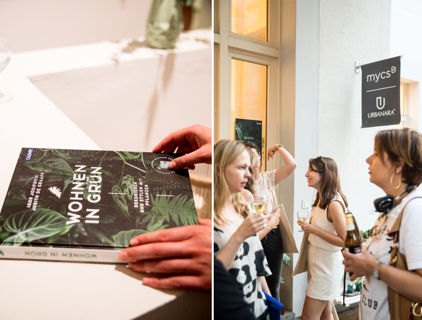 Urban Jungle book launch in Berlin with Urbanara