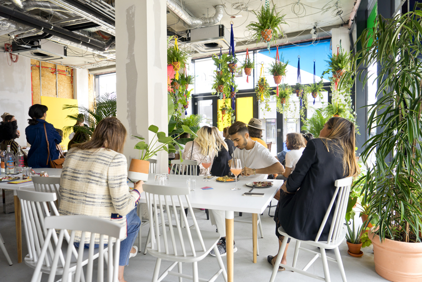 Urban Jungle Bloggers Zalando Summer House Berlin plant styling