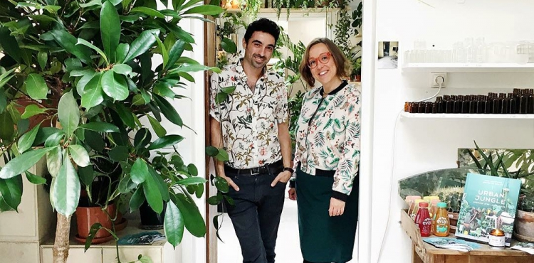 Igor Josifovic and Judith de Graaff - Founders of Urban Jungle Bloggers