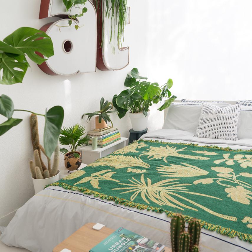 Sleeping With Plants