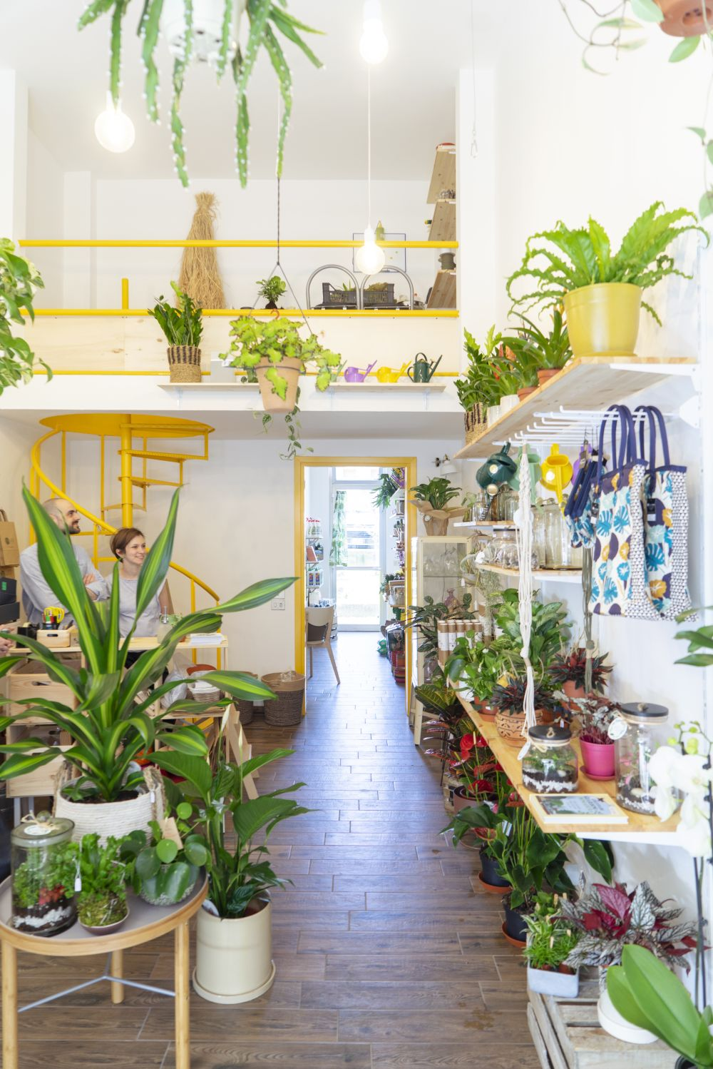Urban Jungle Decorating Kitchen: Wild Milano Plant Shop In Milan