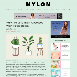 Urban Jungle Bloggers on NYLON magazine