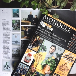 Urban Jungle Book in Monocle January 2017