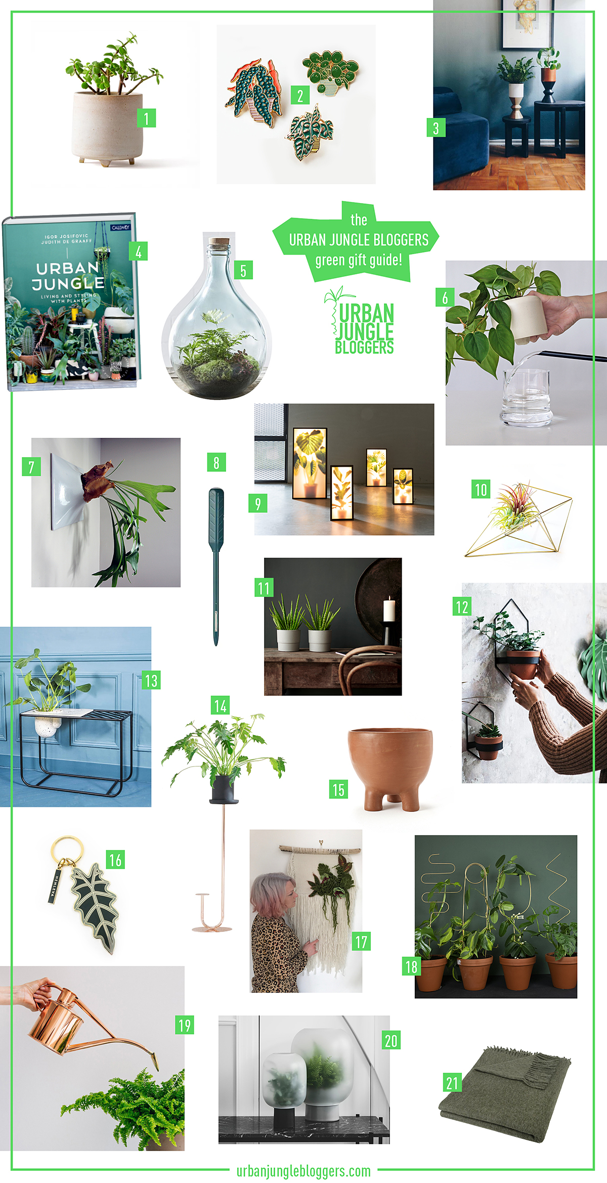 Urban Jungle Bloggers - Green Gift Guide 2019 #urbanjunglebloggers