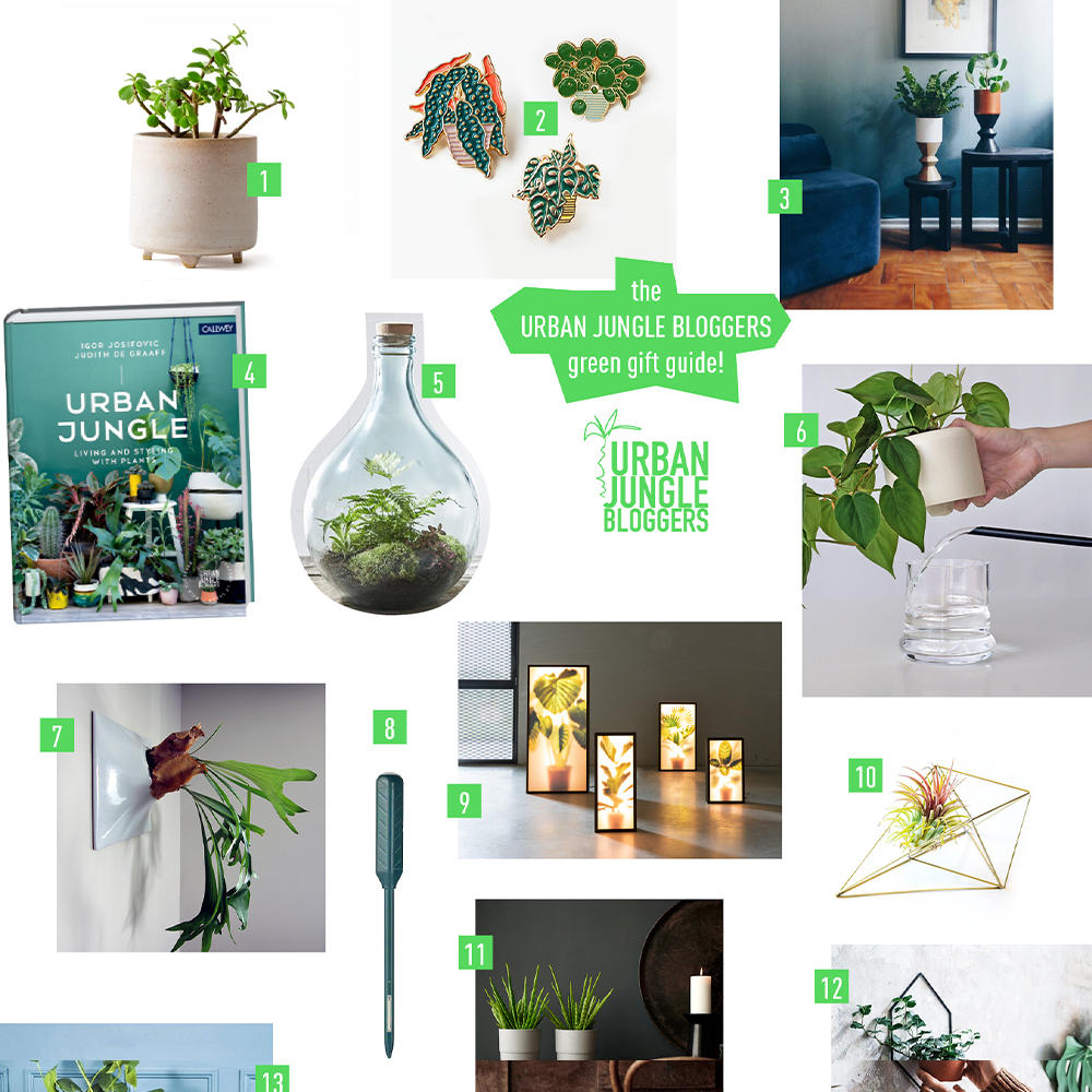 Green Gift Guide 2019 for plant lovers