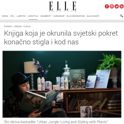 Urban Jungle Bloggers in Elle Croatia