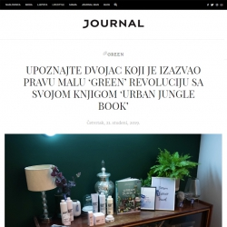 Urban Jungle Bloggers in Journal Croatia