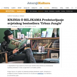 Urban Jungle Bloggers in Jutarnji