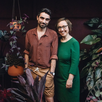 Igor Josifovic and Judith de Graaff - founders of Urban Jungle Bloggers
