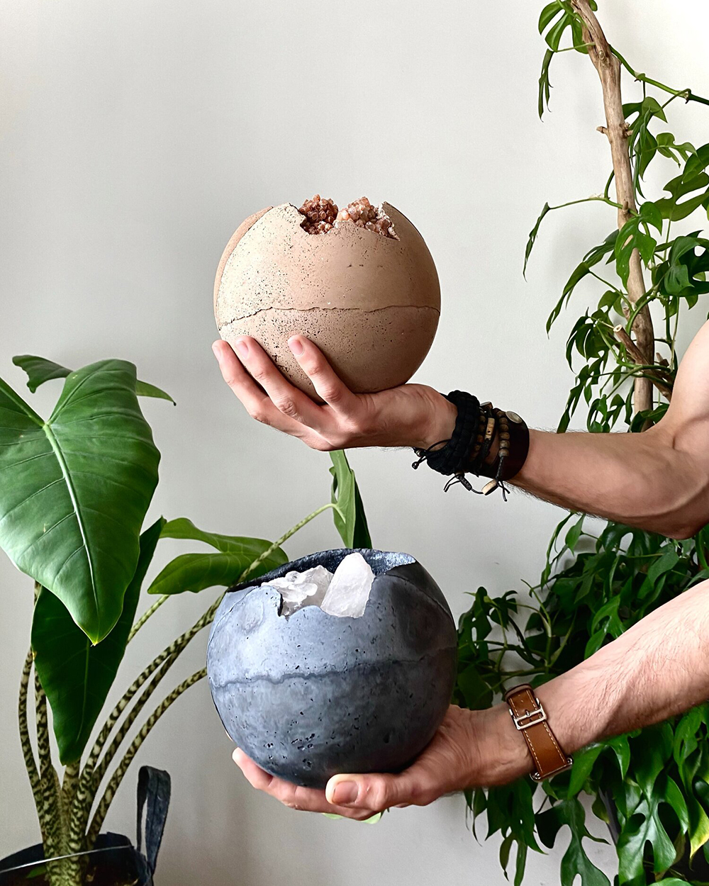 Dirty Roots x Urban Jungle Bloggers limited edition plant spheres