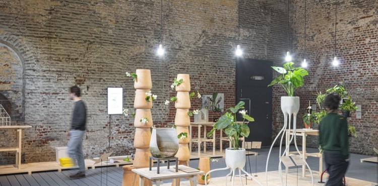 Plant Fever exhibition by studio d-o-t-s CID Grand Hornu Belgium