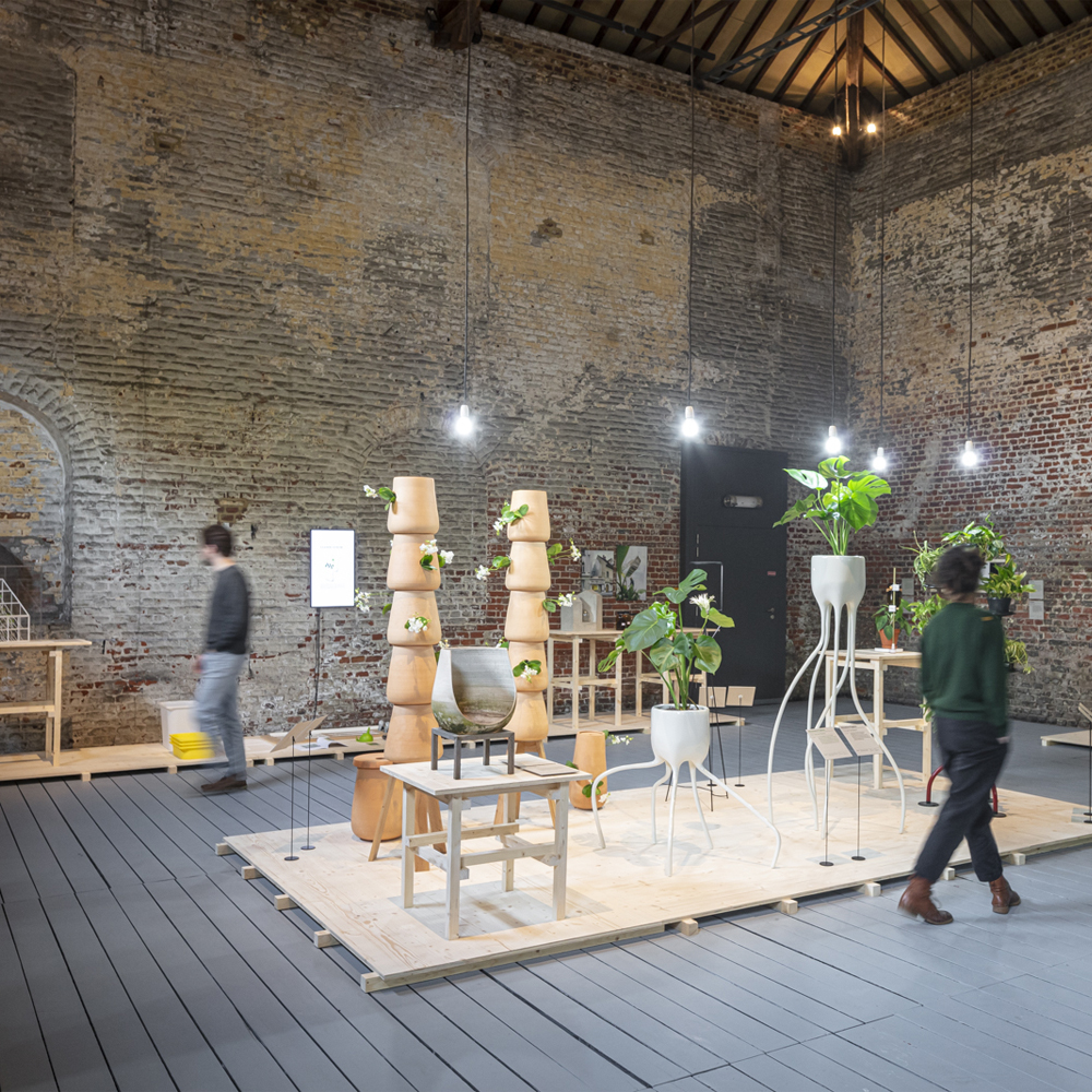 Plant Fever exhibition by studio d-o-t-s